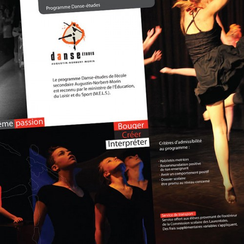 École A.N.Morin, Concentration danse-études