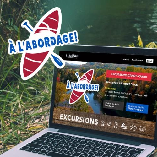 site web a l'abordage Mont-Tremblant